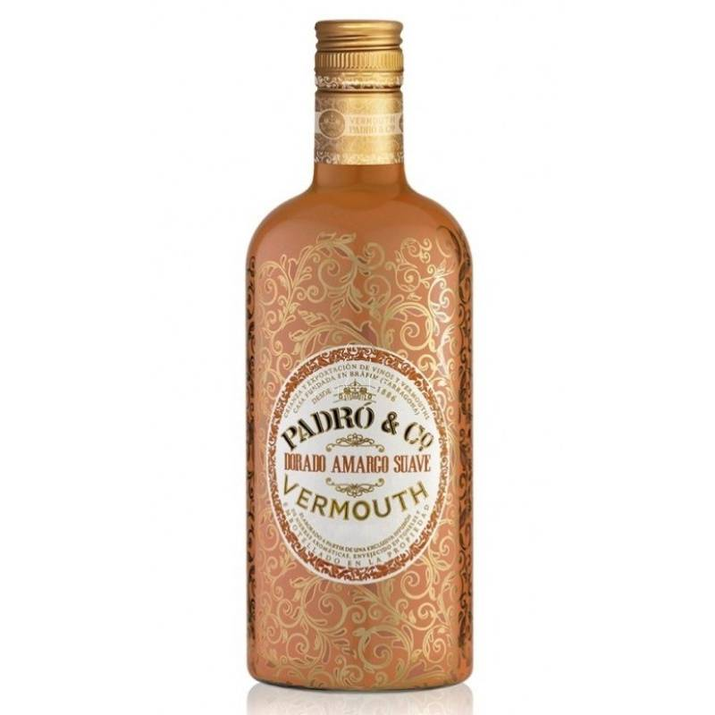 Vermut Padró & Co Dorado Amargo suave
