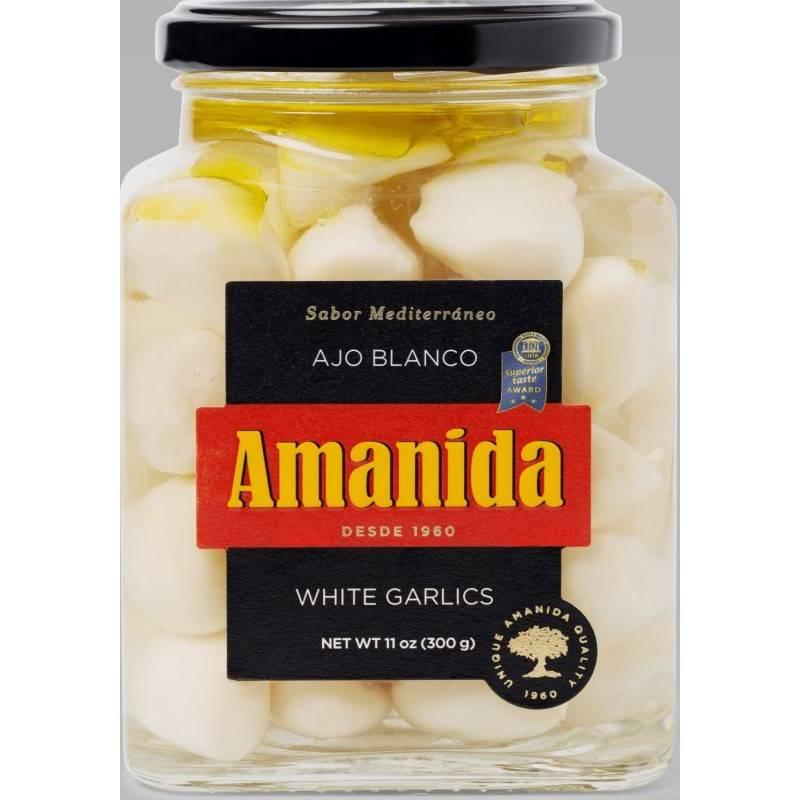 Ajo blanco Amanida (tarro crital 580gr)