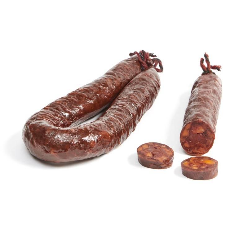 Chorizo de León dulce