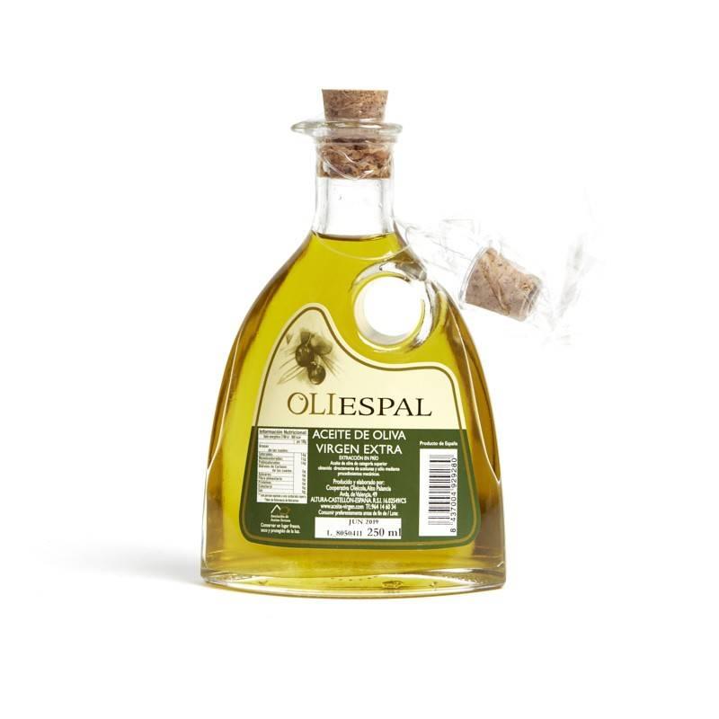 Aceite jarrita Oliespal cristal (Castellón) 250ml
